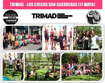 Photo of Triathlon and woman, exemplary initiative by TRIMAD