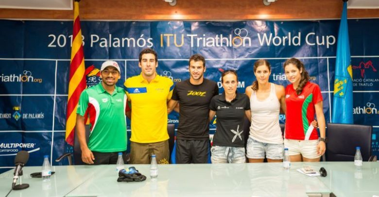 Photo of Presentation of the Triathlon World Cup in Palamós