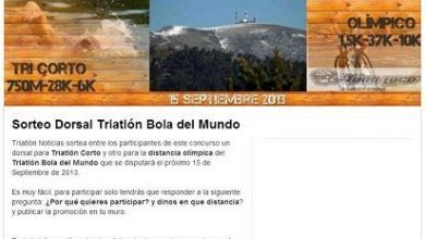 Photo of Draw a dorsal for the Bola del Mundo Triathlon