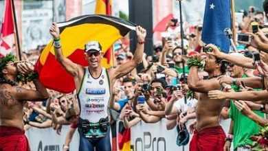 Photo of Frederick Van Lierde wins the Hawaii Ironman, with a magnificent Iván Raña in 6th position