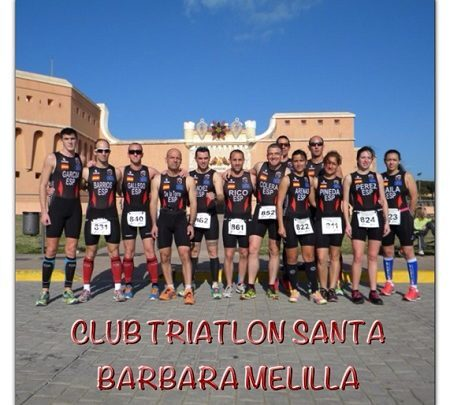 Club triatlón Santa Bárbara Melilla