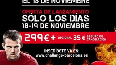 Photo of CHALLENGE BARCELONA arranca el 18 de Noviembre