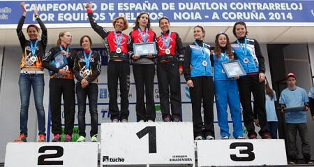 Campeones de España de Duatlón por Relevos