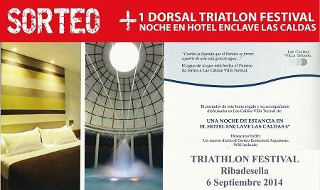 Diahsal Triathlon Ribadesella Festival + Nacht Enklave Las Caldas Hotel