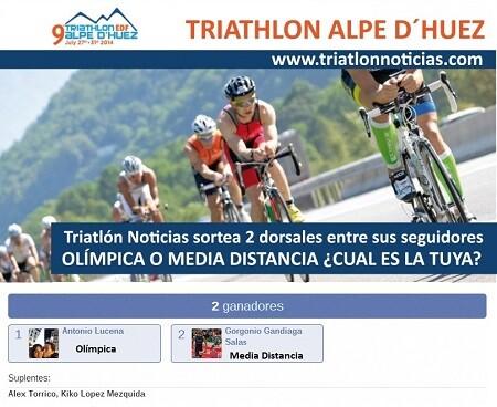Triathñon Alpe D´Huez Unentschieden