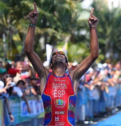 Photo of Emilio Martín for everyone in the Duathlon World Championship