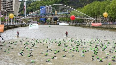 Photo of Riatlón is born, the first swimming trip from Santurce to Bilbao
