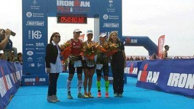 Photo of Camilla Pedersen y Sylvain Sudrie vencen en la primera edición del Ironman 70.3 Barcelona