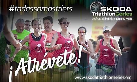 Photo of #todassomostriers: ŠKODA Triathlon Series challenges women to debut in triathlon