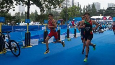 Photo of Alberto González, Olympic diploma in the Olympic Games. of Nanjing Youth
