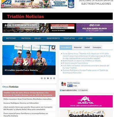 Triathlon News Makeover