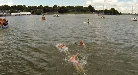 Las corrientes en competiciones de aguas abiertas.