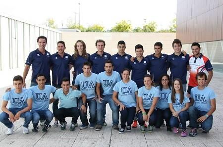 Equipo Triatlón Universidad de Alicante