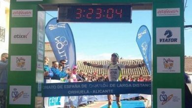Photo of Raúl Amatriain and Margarita Vic are proclaimed Spanish Duathlon Champions LD.