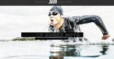 Nueva web de Javier Gómez Noya