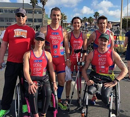 Photo of Great performance of the Spanish paratriathlon in South Africa