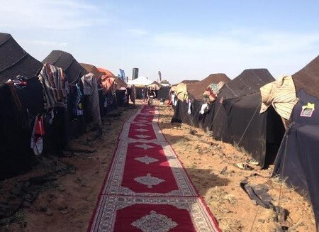 Campamento en la TITAN Desert