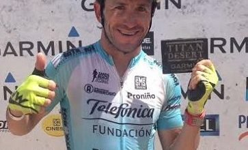 Photo of Alejandro Santamaría finisher in the Titan Desert