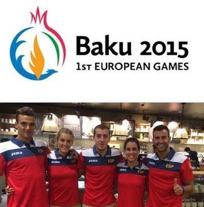 The triarmada returns to scene in the Games of Baku