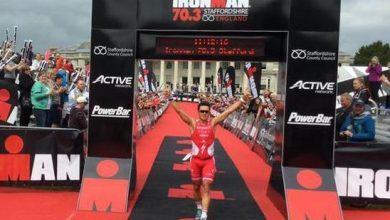Photo of Javier Gómez Noya sweeps the Ironman 70.3 Staffordshire