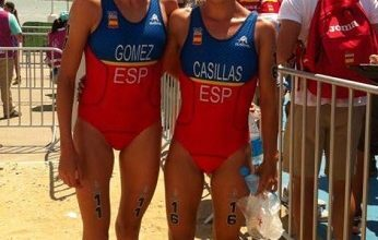 Tamara Gómez y Miriam Casillas