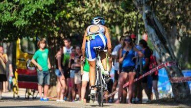 Photo of Omar Tayara and Ana Caleya triumph at the ŠKODA Triathlon Series Villa in Madrid