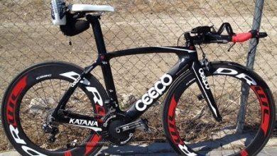 Bicicleta CEEPO Katana con componentes Max´sSystem