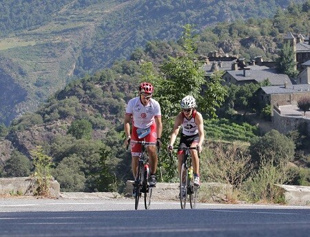 Photo of Xavi Llobet and Mercé Tusell win the Andorra Outdoor Games Triathlon by Compressport