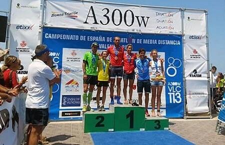 Photo of 16: 30 Video summary of the Spanish Championship of Medium Distance Triathlon in teleportation