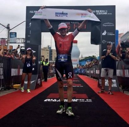 Tim Dom gana el Ironman 70.3 Manta