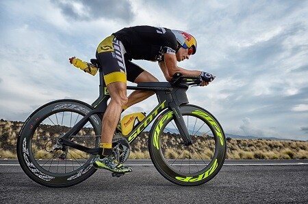 Sebastian Kienle sobre la bici en Kona
