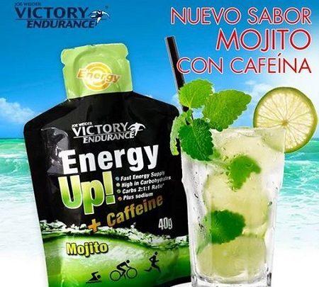 "Energy-Up + Caffeine con sabor ""Mojito"""