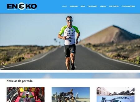 Nueva web de Eneko Llanos