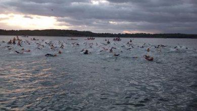 Photo de Josep Torres et Olga Pons remportent le triathlon Half Menorca
