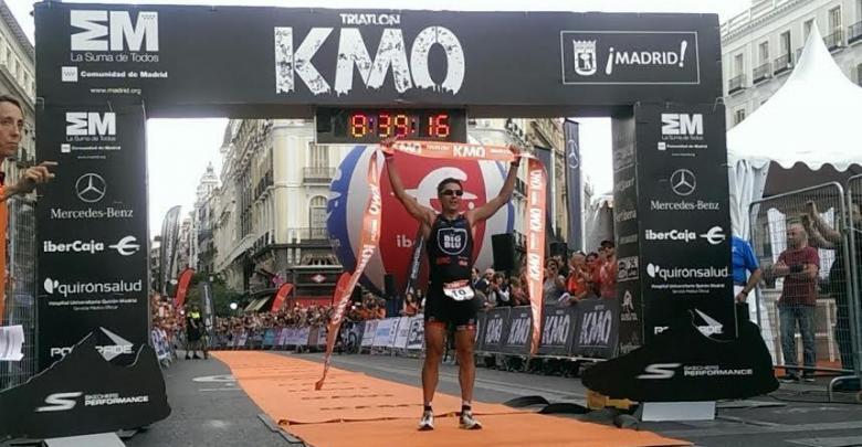 Héctor Guerra Ganador del Triatlón KM0