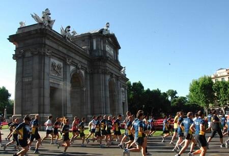 Carrera popular en Madrid