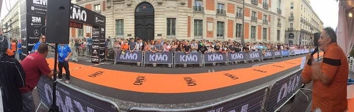 Felipe Gutiérrez en el Triatlón KM0