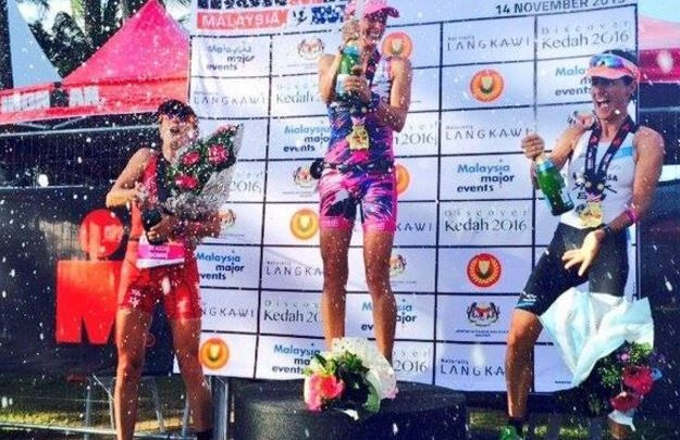 Gurutze Frades remains in the Ironman Malasya