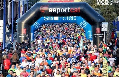 Salida de la Marató Tarragona