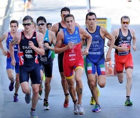 Nan Oliveras en Copa del Mundo de Triatlón