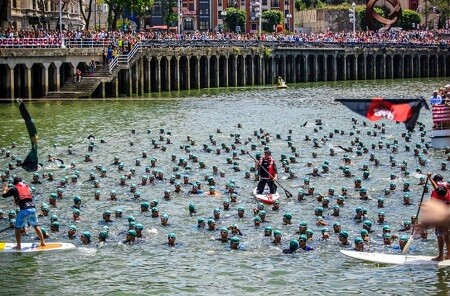 Salida Bilbao Triathlon