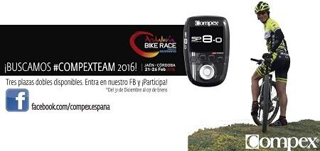 Concurso Andalucía Bike Race con COMPEX