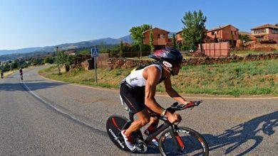 Sector ciclista del Triatlón de Riaza