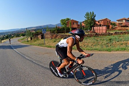 Riaza Triathlon cycling sector