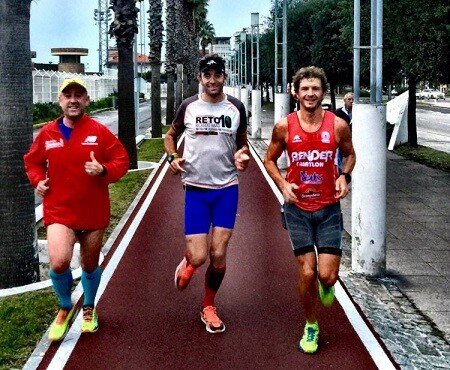 Ricardo Abad reto 100 ironman en 1 año