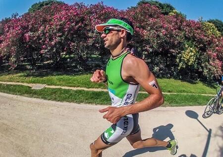 Raul Amatriain en carrera a pie