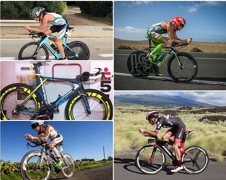 Bicicletas de los pros Ironman para 2016