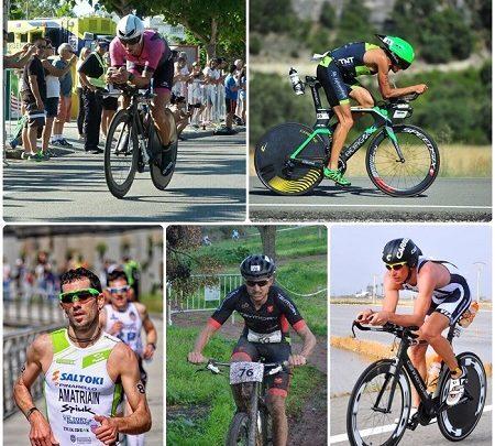 Calendario de los principales triatletas de MD y LD españoles