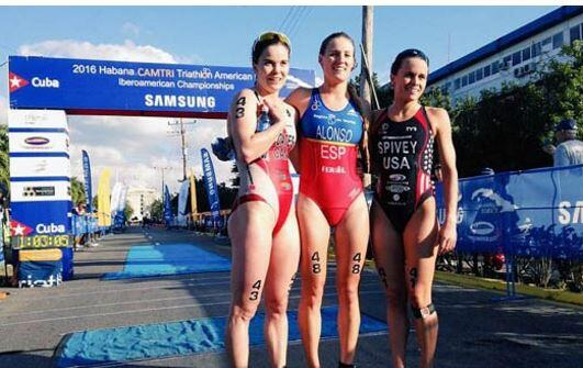 Camila Alonso Campeona Iberoamericana de Triatlón Sprint