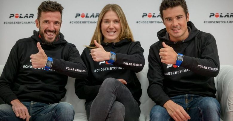 Athletes Polar 2016, Gomez Noya, Chema Martinez, Claudia Galicia